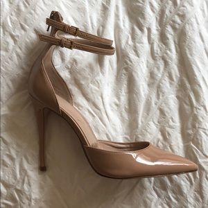 Aldo Nude Patent Stilettos